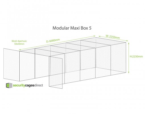 Security Cage Mesh Bespoke