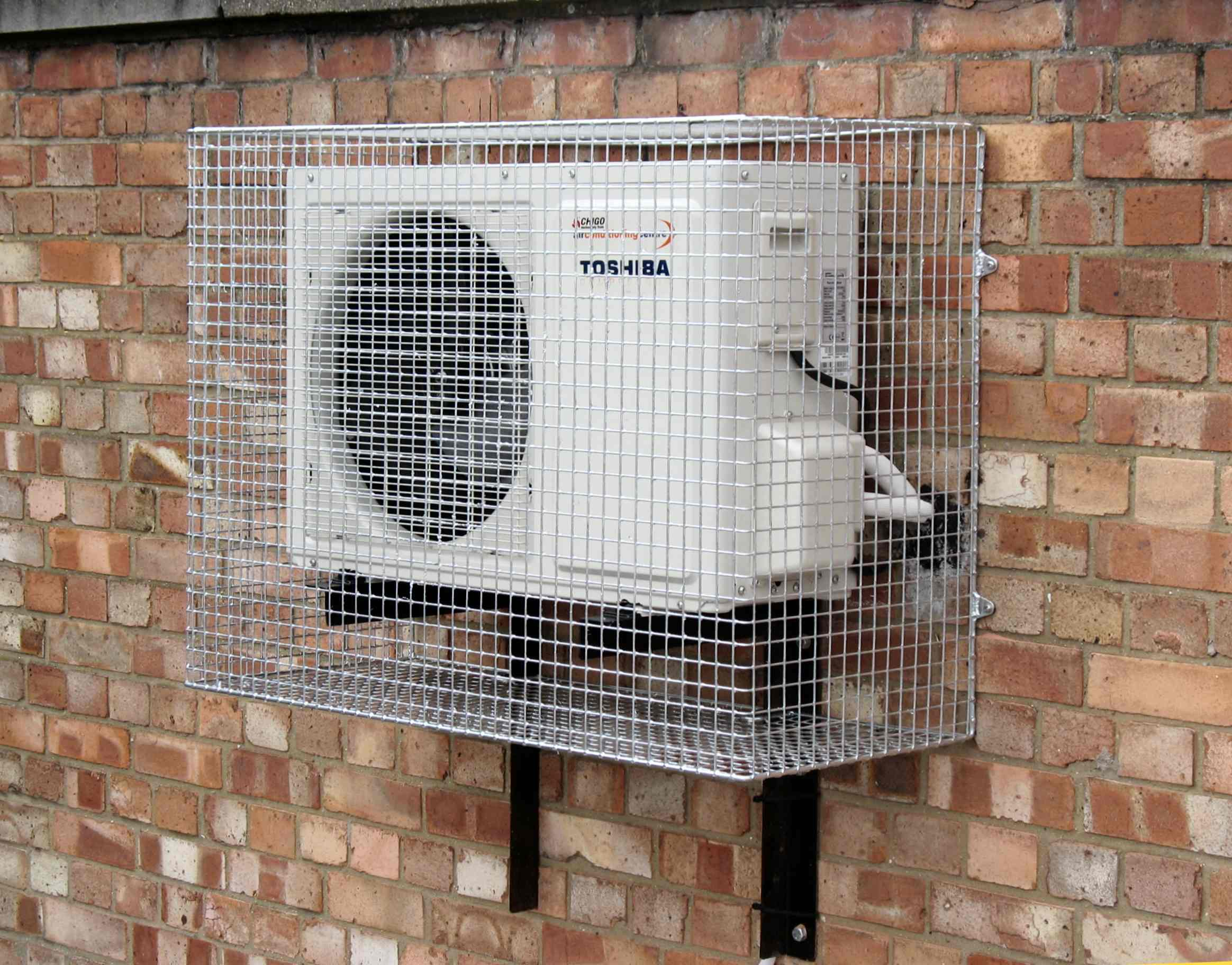 #6B4B3C Lightweight Air Conditioning Guard Security Cages Direct Recommended 2797 External Ac Unit pics with 2328x1824 px on helpvideos.info - Air Conditioners, Air Coolers and more