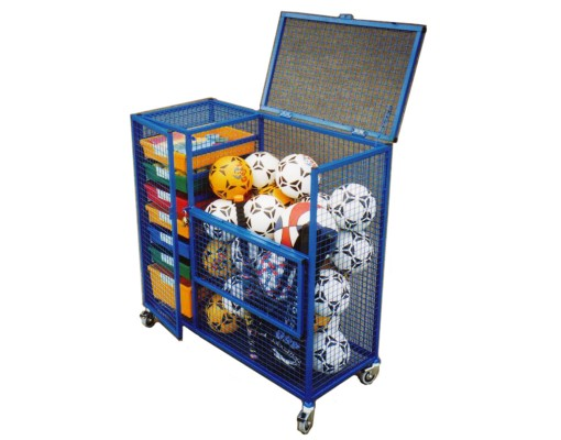 school Security Storage Cage