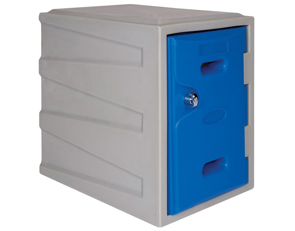 Plastic Lockers Single Security Cages Direct