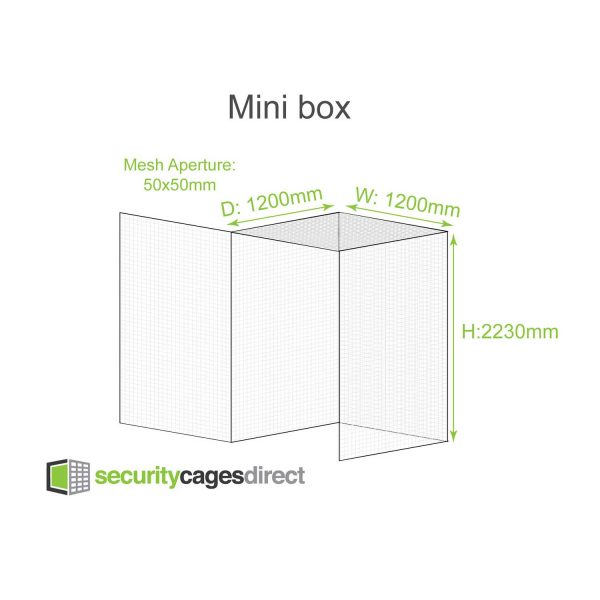 Smaller Mini Security Cage