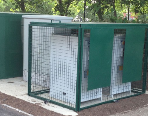 Bespoke A/C cage
