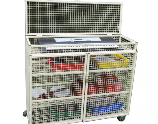 Secure Trolley for Music Equipment
