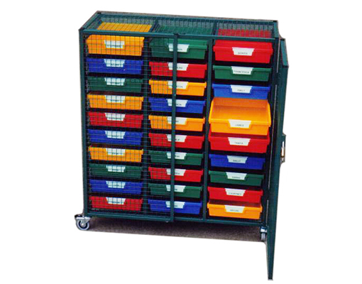 Classroom Security Storage Cage
