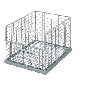 Galvanised Stacking Basket