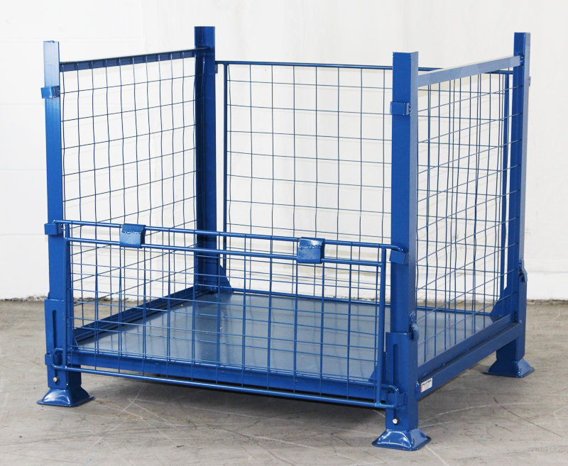 Collapsible Pallet Stillage Cage Security Cages Direct