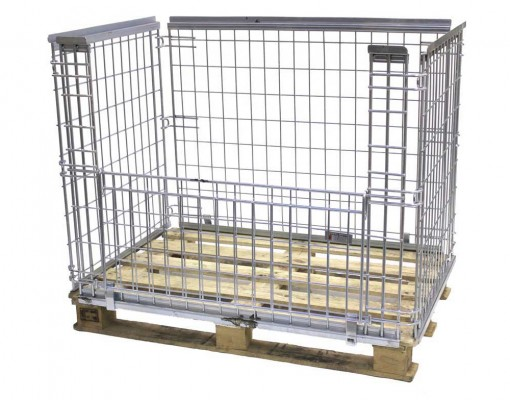 Pallet Cage Retention Unit - Stackable