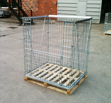 large pallet cage