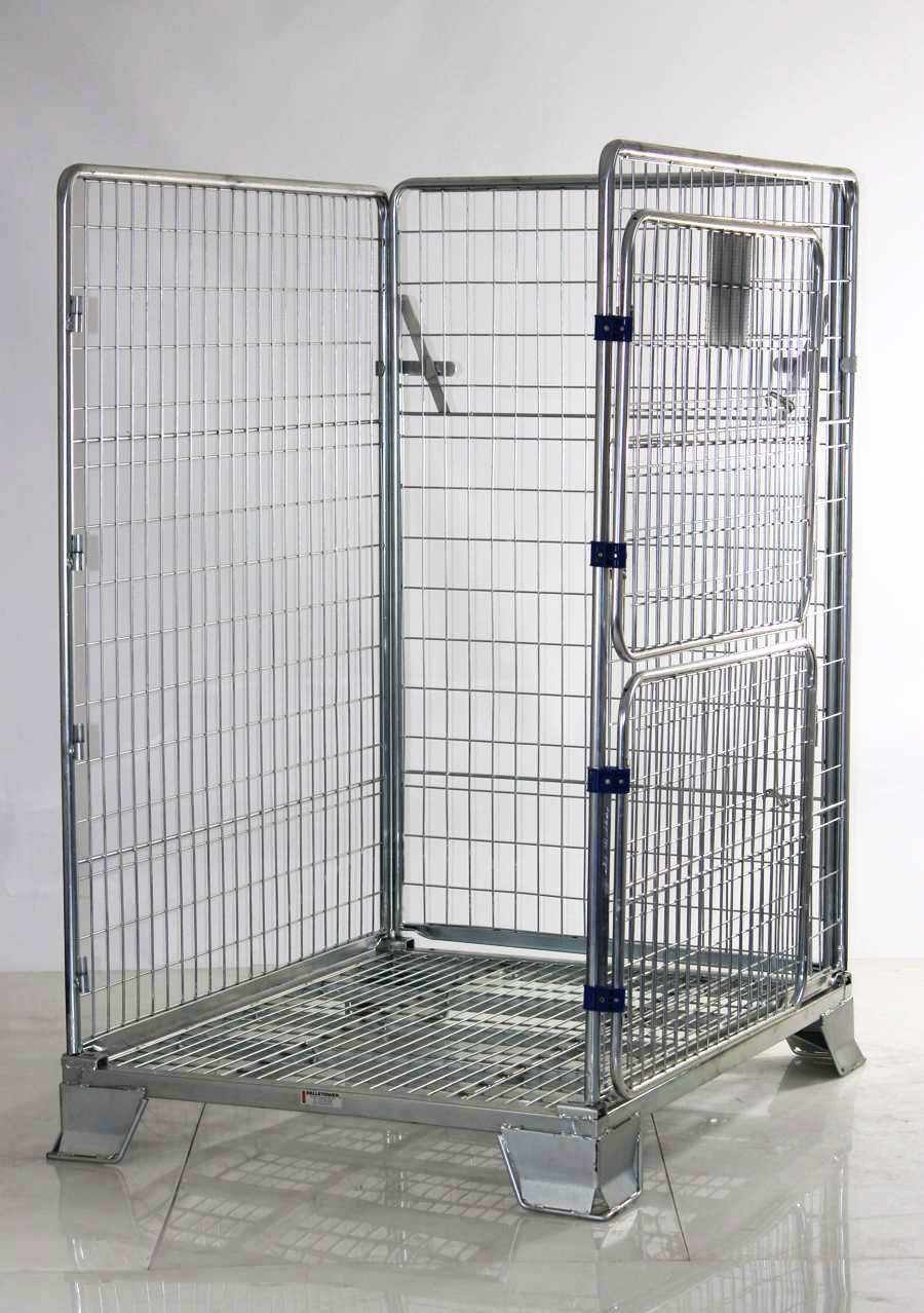 Pallet Parcel Cage Heavy Duty Security Cages Direct