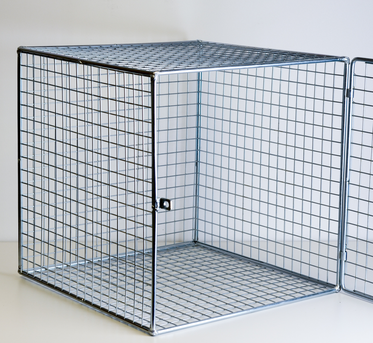 Mesh Cube with Door - Modular Mesh Locker System