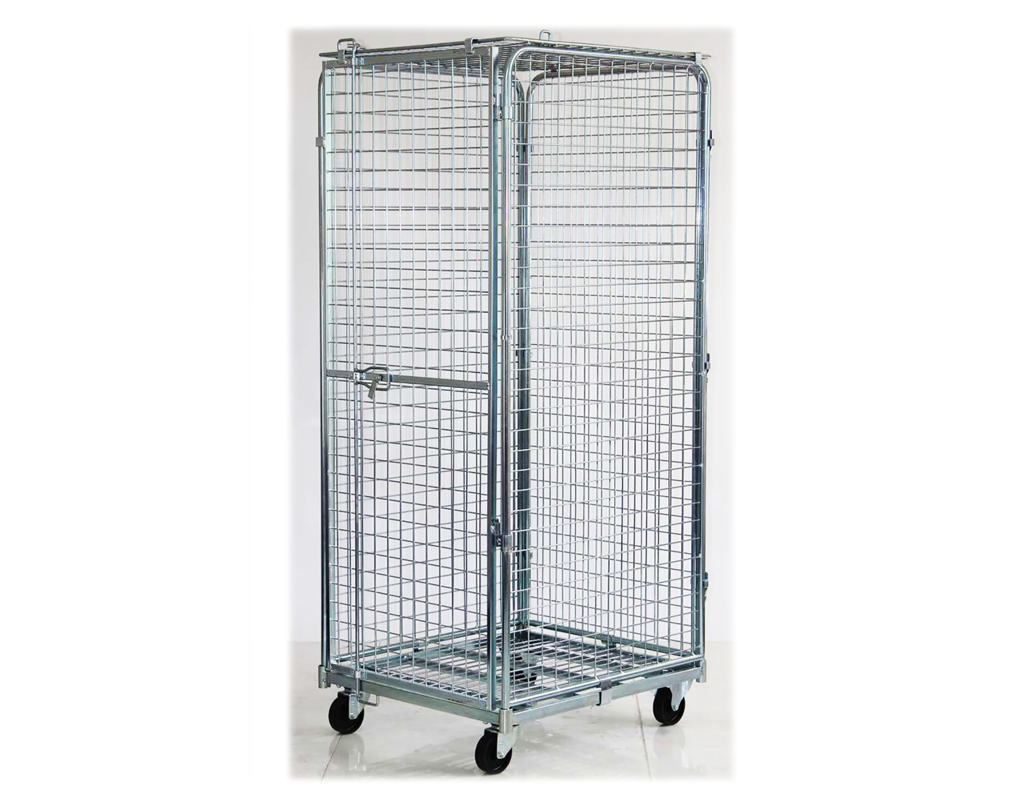 Full Security Roll Container Security Cages Direct