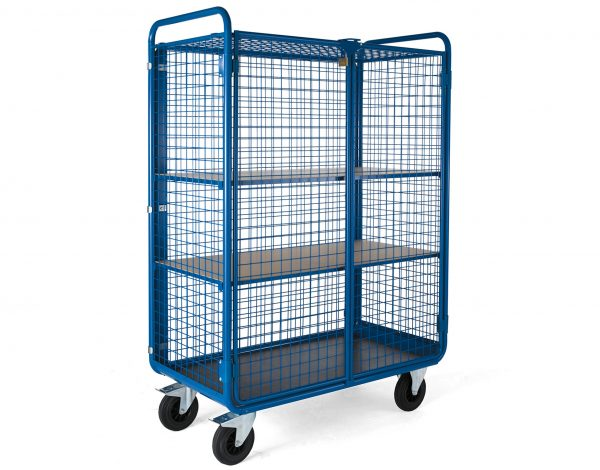 Fully Secure Parcel Cage