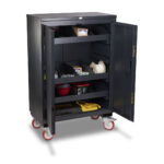 Mobile Security Cabinet - Compartmented