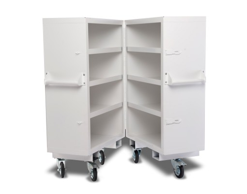 Security Cabinet - Bi Fold Design