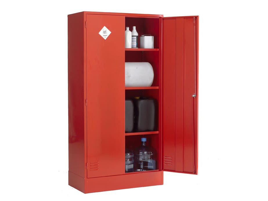 Chemical Storage Cabinet Su08pscd H1830 X W915 X D457